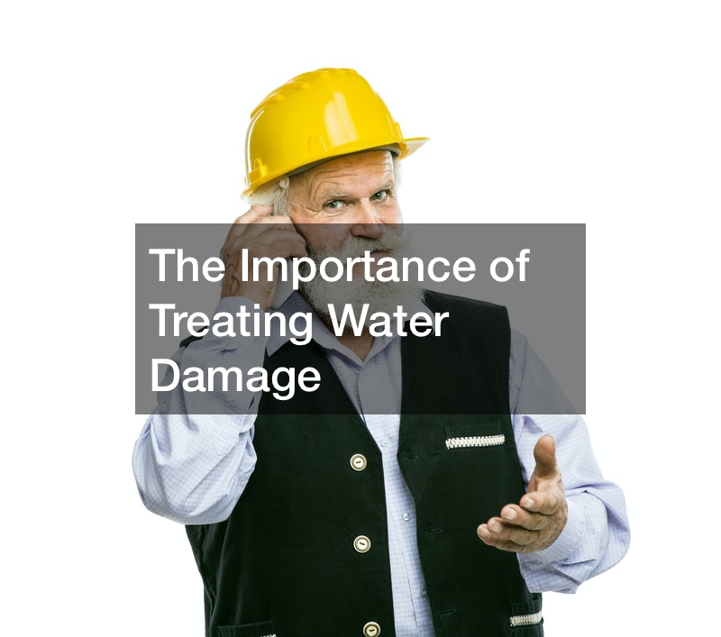 The Importance of Treating Water Damage