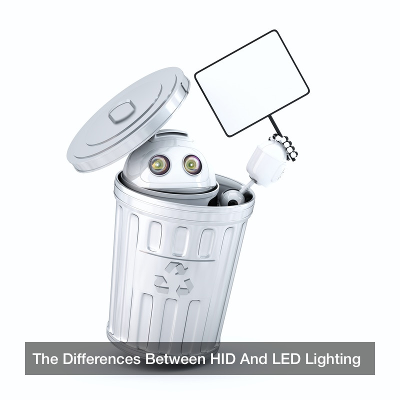 The Differences Between HID And LED Lighting