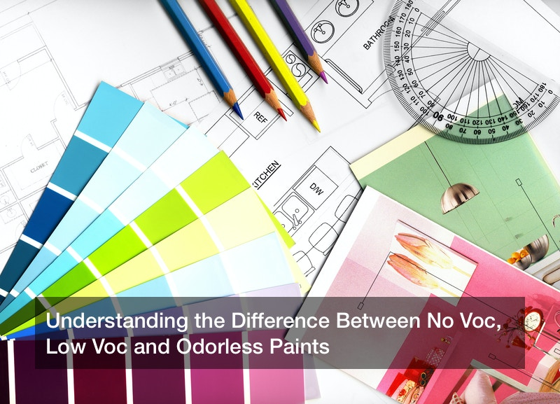 Understanding the Difference Between No Voc, Low Voc and Odorless Paints