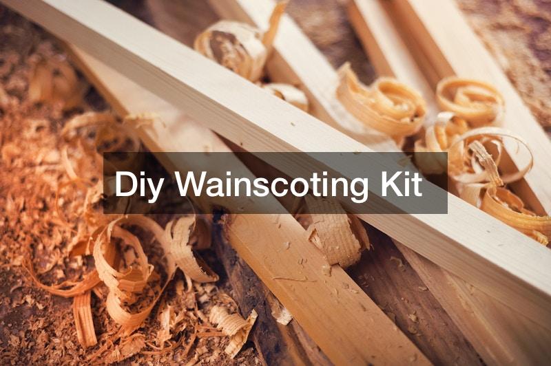 Diy Wainscoting Kit
