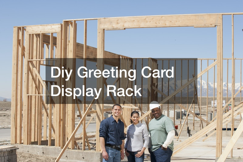 Diy Greeting Card Display Rack