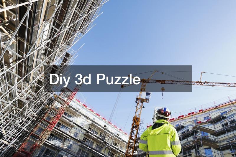 Diy 3d Puzzle