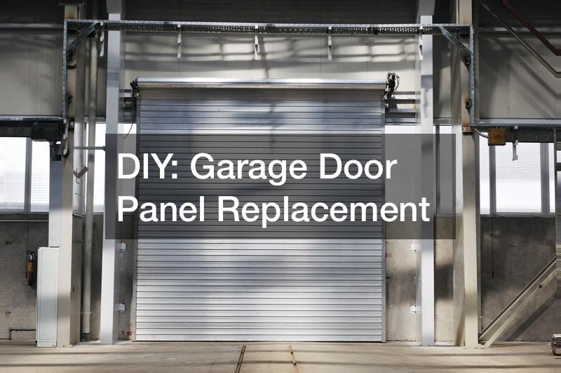 DIY  Garage Door Panel Replacement