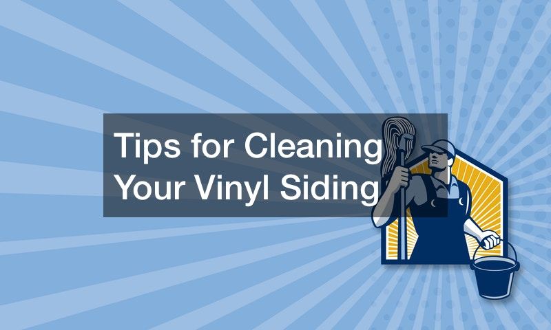 Tips for Cleaning Your Vinyl Siding