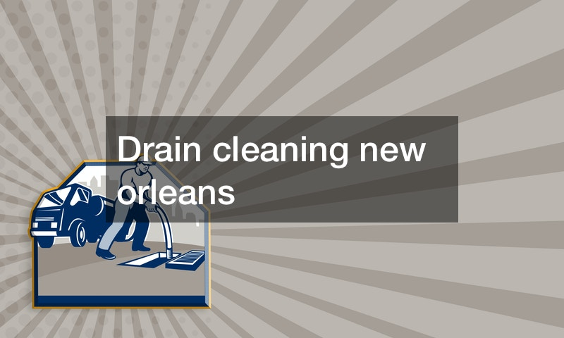 Drain cleaning new orleans —- YOUTUBE VIDEO