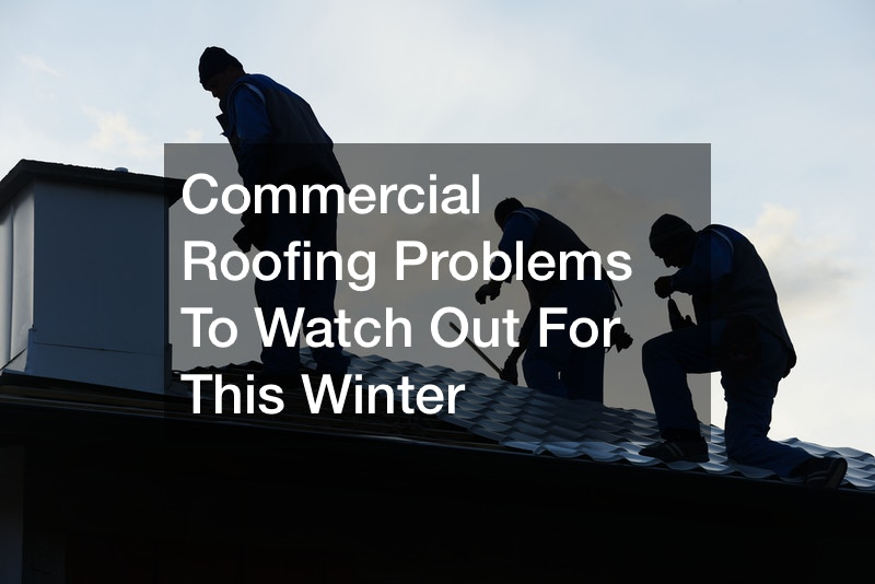 Commercial Roofing Problems To Watch Out For This Winter